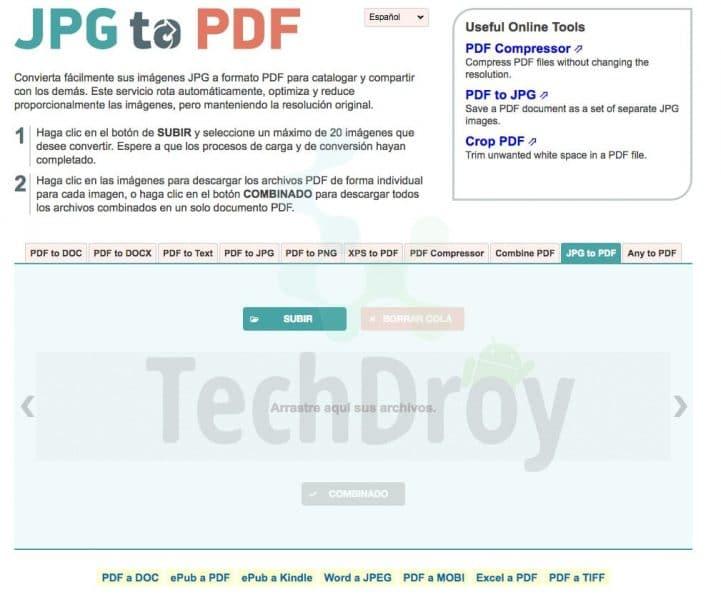 JPG2PDF convert PDF to Word