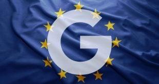 Google bandera EU