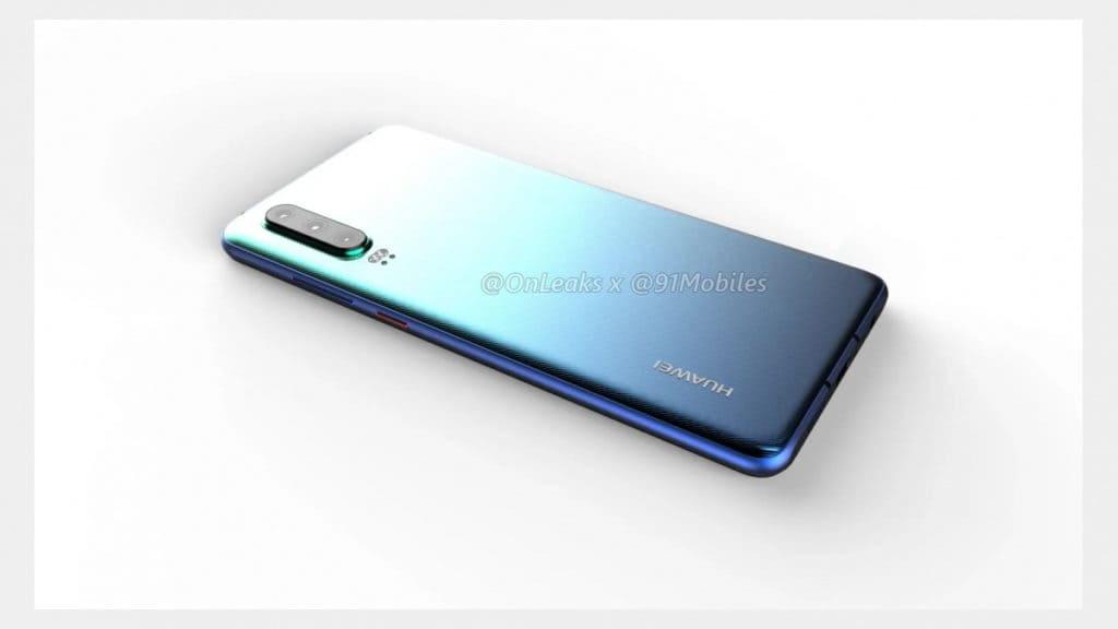 Huawei P30 render 5