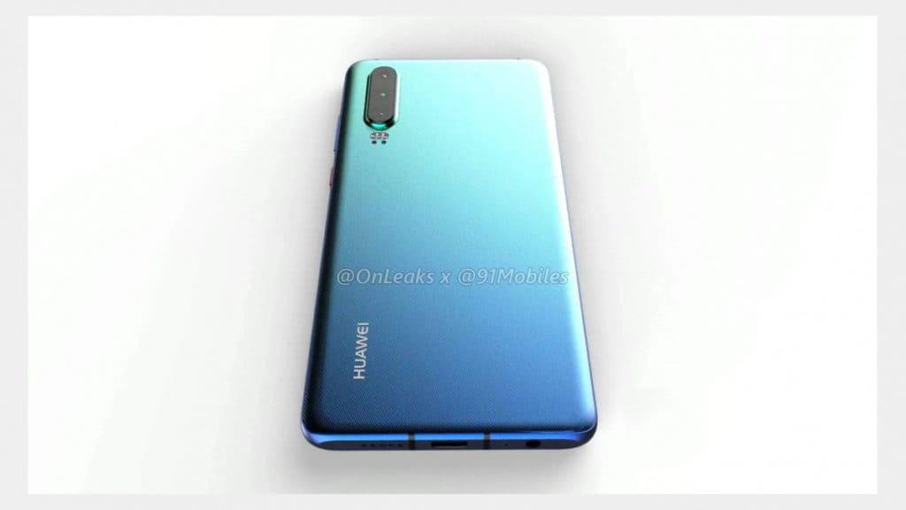 Huawei P30 render 7