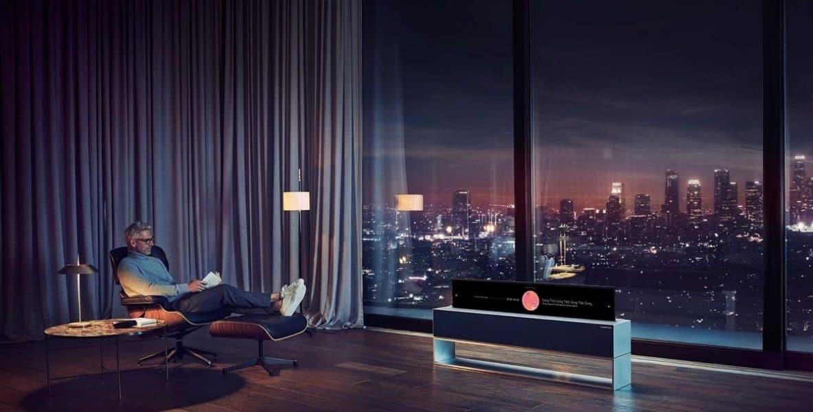 LG Signature OLED TV 65R9 vista Line View