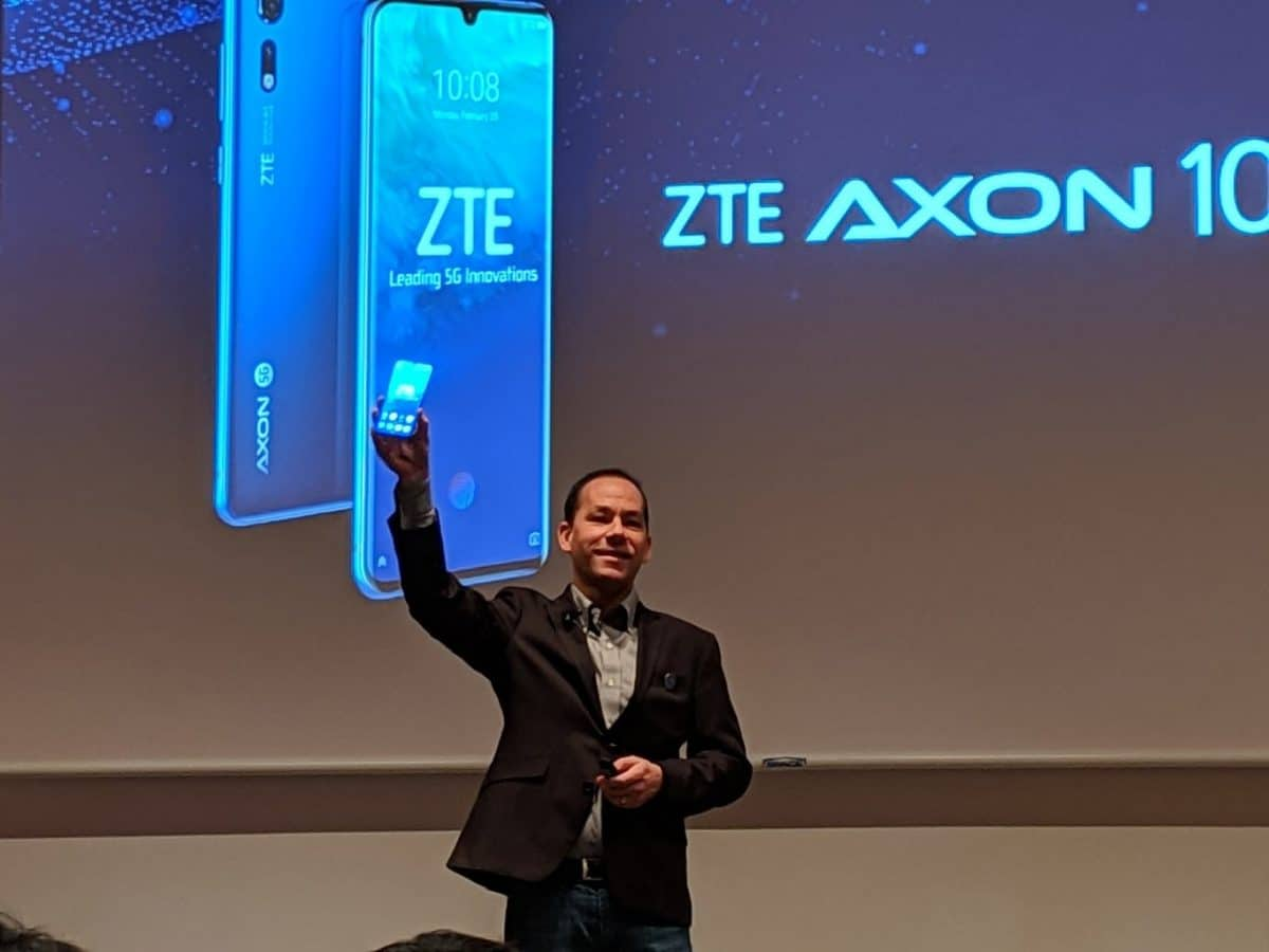 Axon 10 Pro 5G presntación