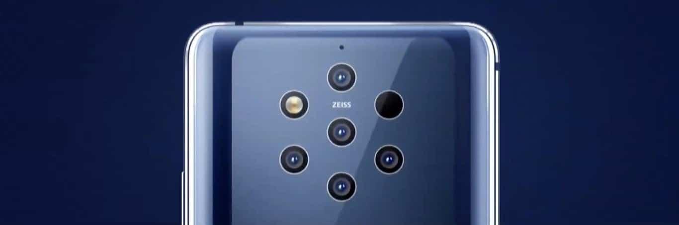 Cámaras Nokia 9 PureView