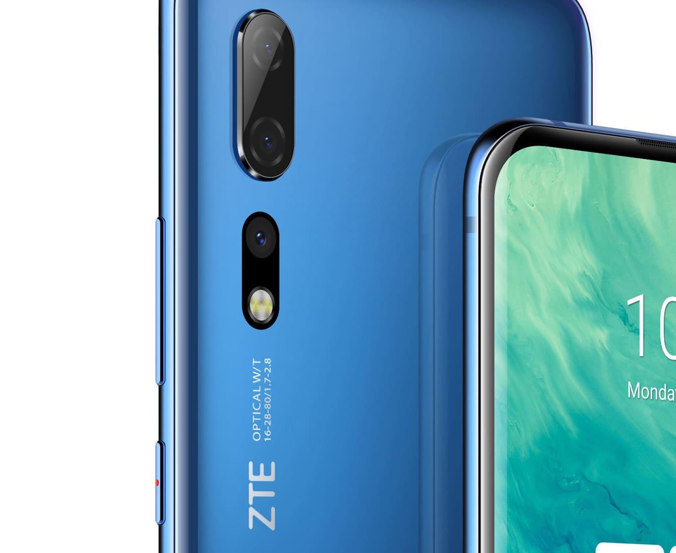 Camara trasera ZTE Axon 10 Pro 5G