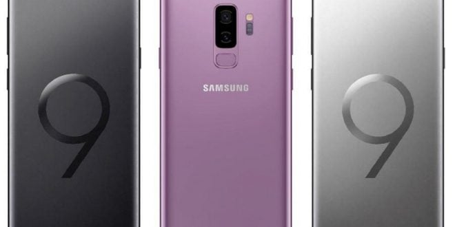 Galaxy S9 y S9 Plus press