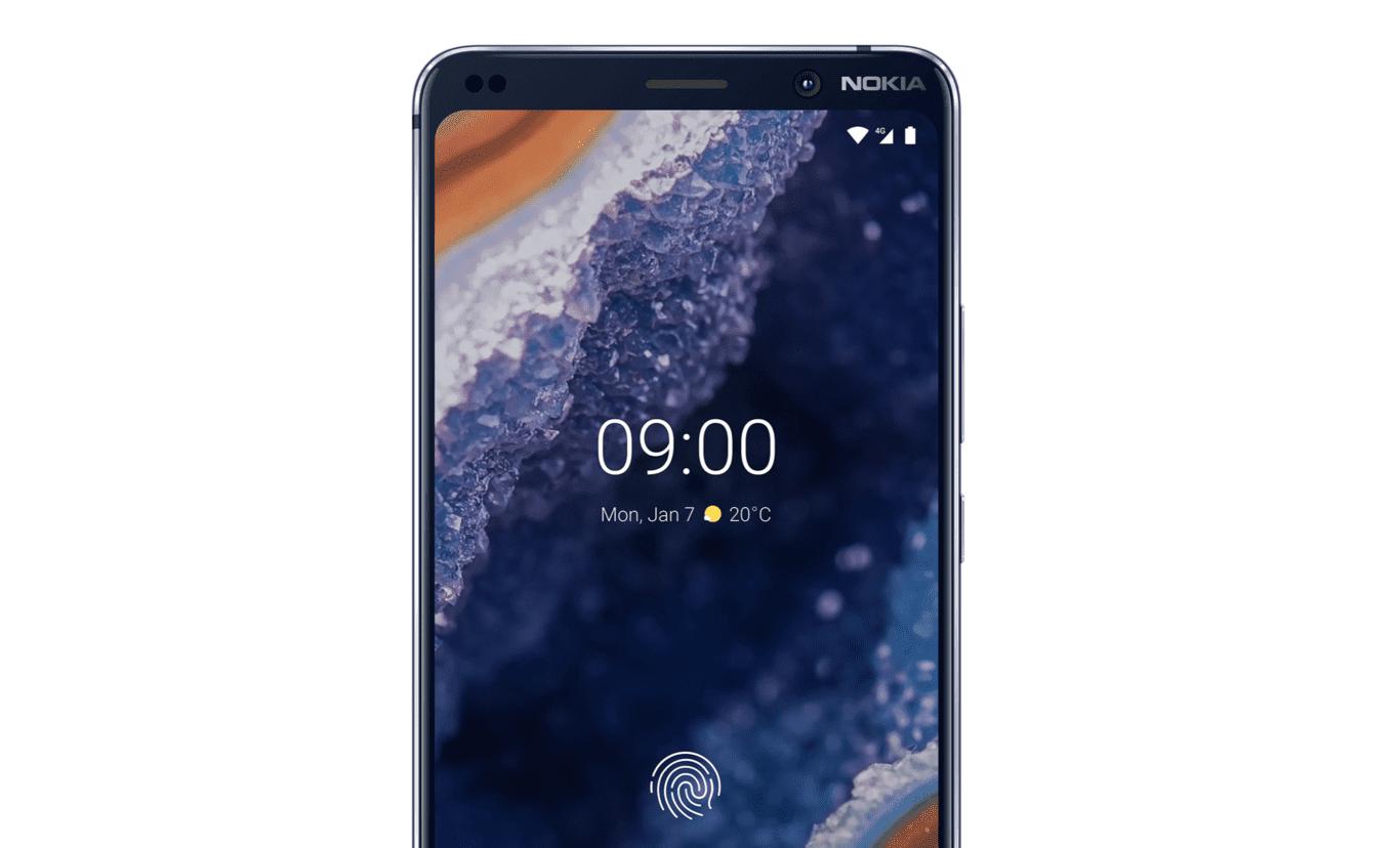 Nokia 9 frontal