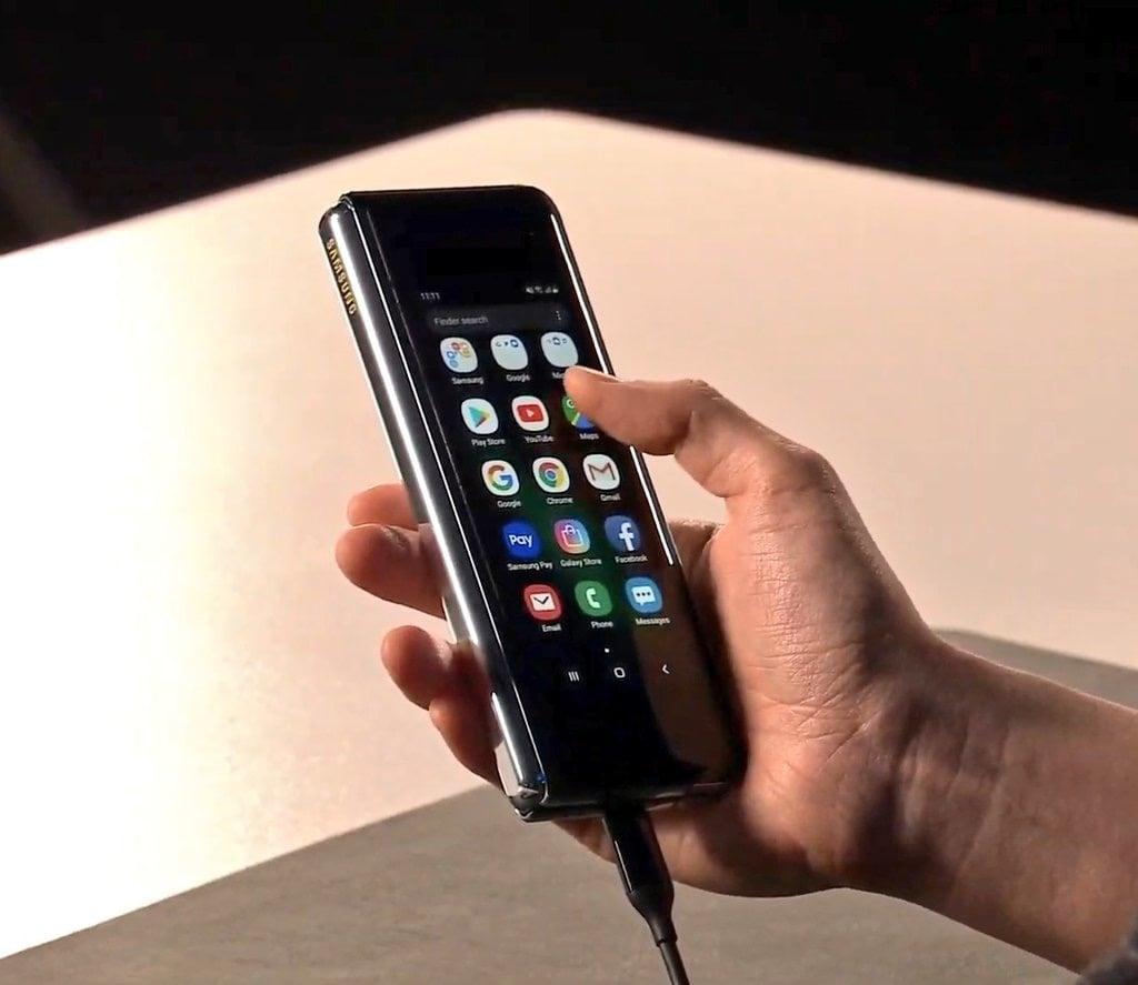 Samsung Galaxy Fold plegado