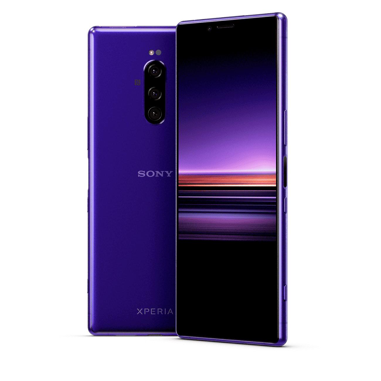 Sony Xperia 1 morado