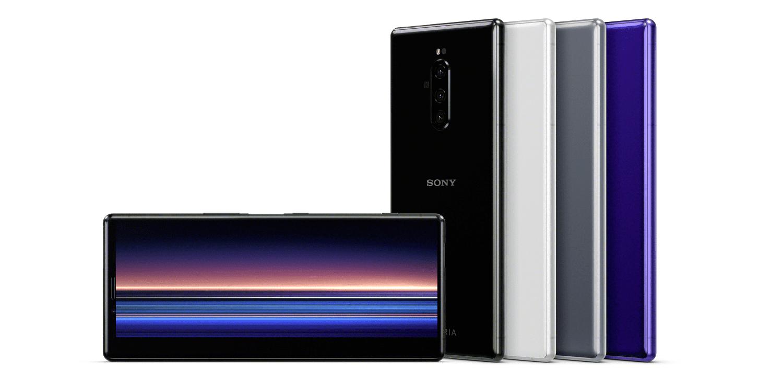 Sony Xperia 1 pantalla y trasera