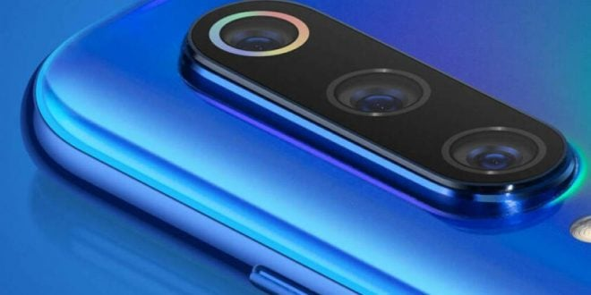 Xiaomi Mi 9 triple cámara