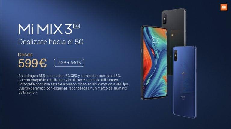 Xiaomi Mi Mix 3 5G precio