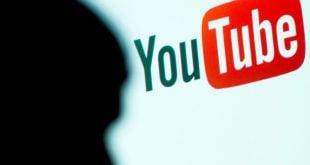 YouTube logo con silueta