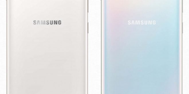 Samsung Galaxy S10 color Ceramic White y Prisma Wihite