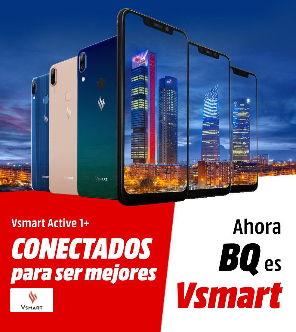 MediaMarkt exclusiva Vsmart Active 1+
