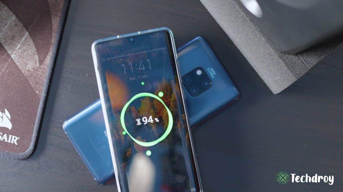Huawei P30 Pro carga inalámbrica