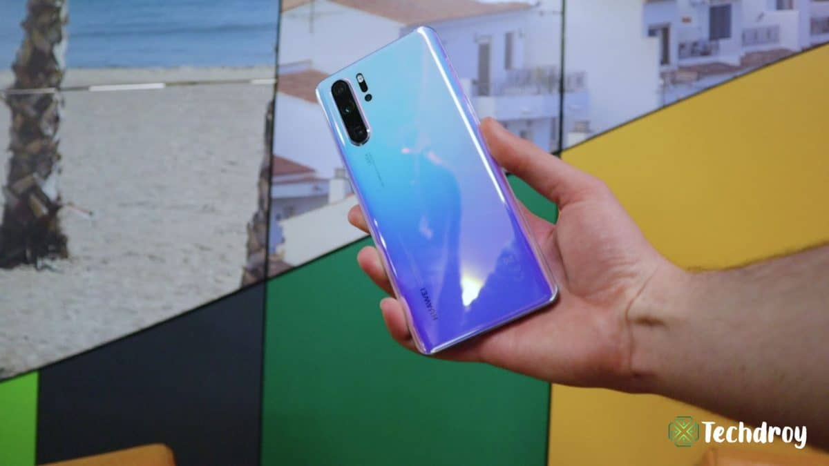 Huawei P30 Pro color azul