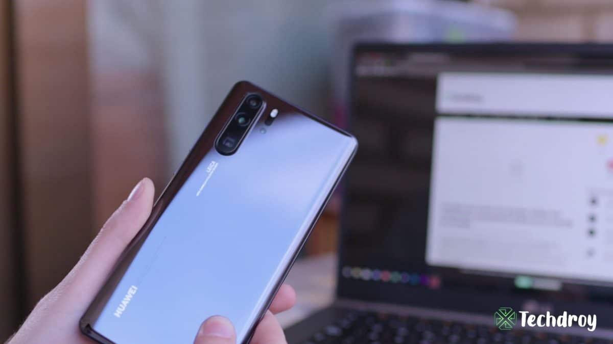Huawei P30 Pro trasera de cristal