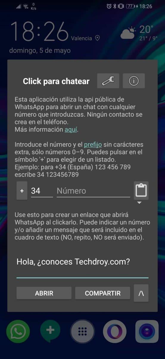 Click to chat para WhastApp