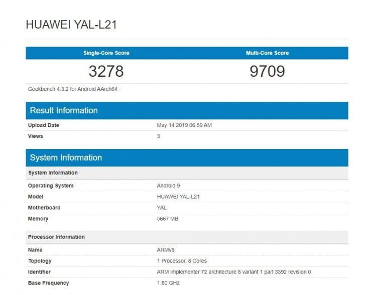 Geekbench-Honor-20