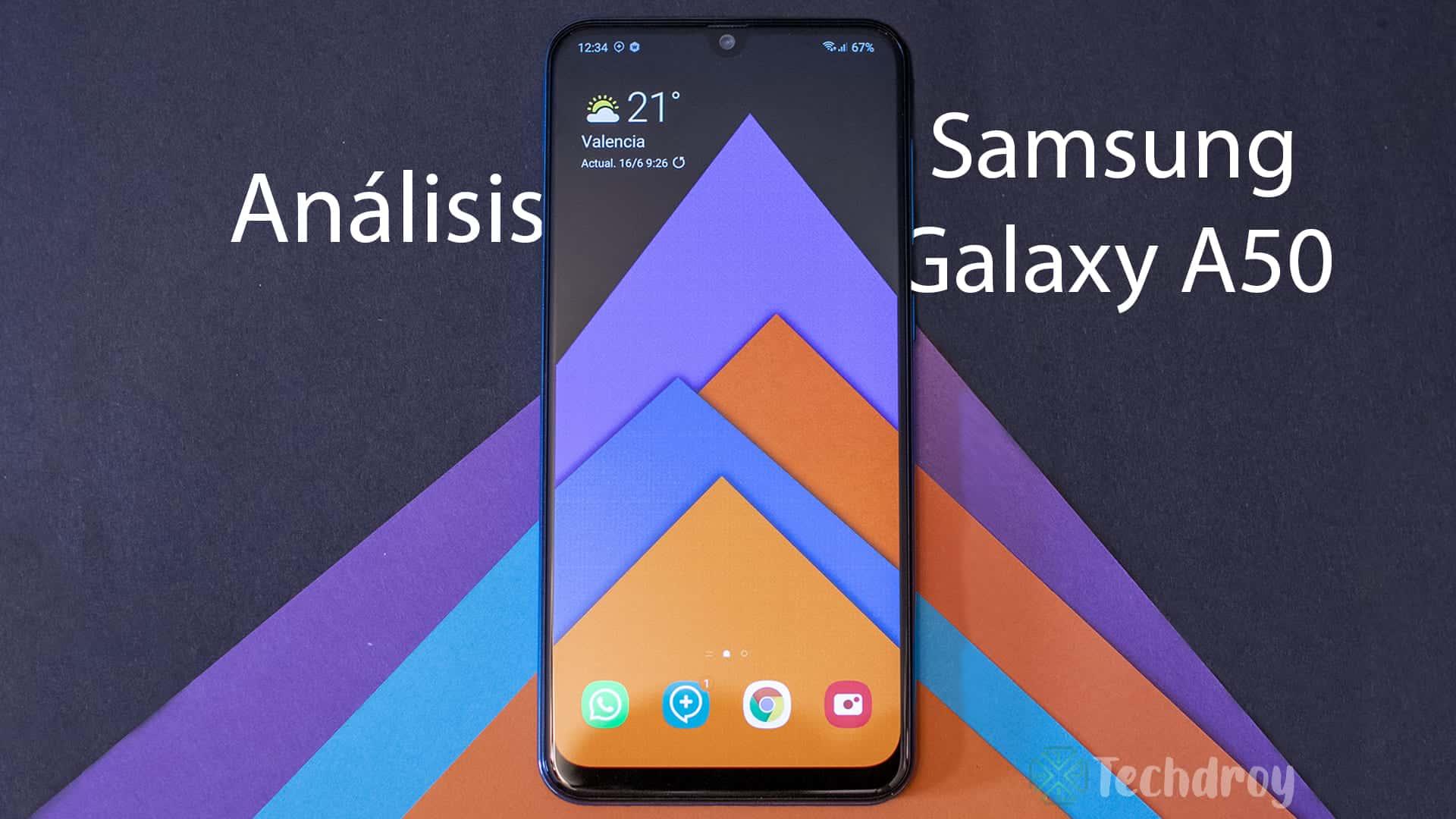 Analisis Samsung Galaxy A50