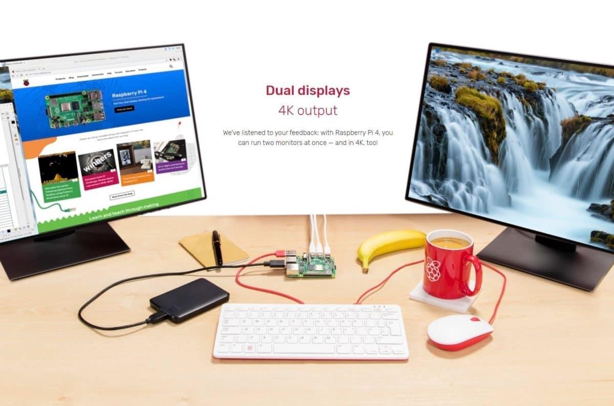 Raspberry-Pi-4-conectar-dos-monitores