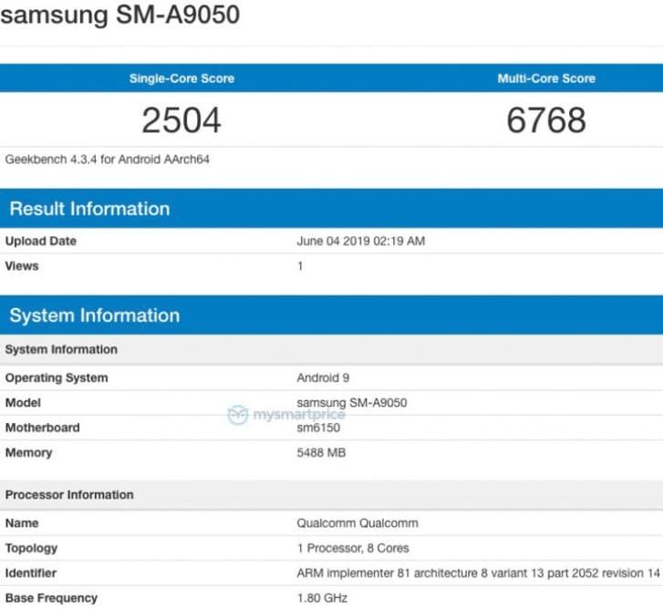 Samsung-Galaxy-A90-benchmark-Geekbench
