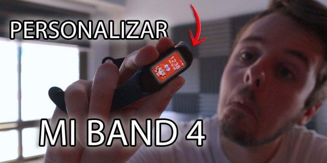 Cómo personalizar la apariencia de la Xiaomi Mi Band 4