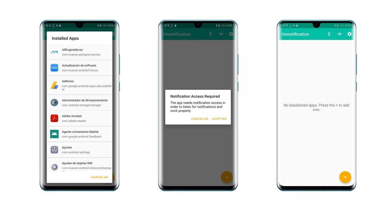 Unnotification mejor aplicación para recuperar notificaciones en Android