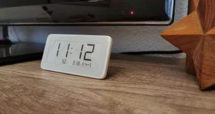 reloj Xiaomi Mijia con tinta electrónica y termómetro de higrómetro digital