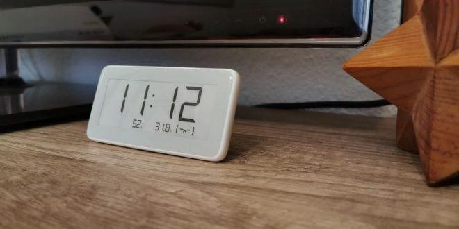 Análisis reloj Xiaomi Mijia con tinta electrónica y termómetro de higrómetro digital