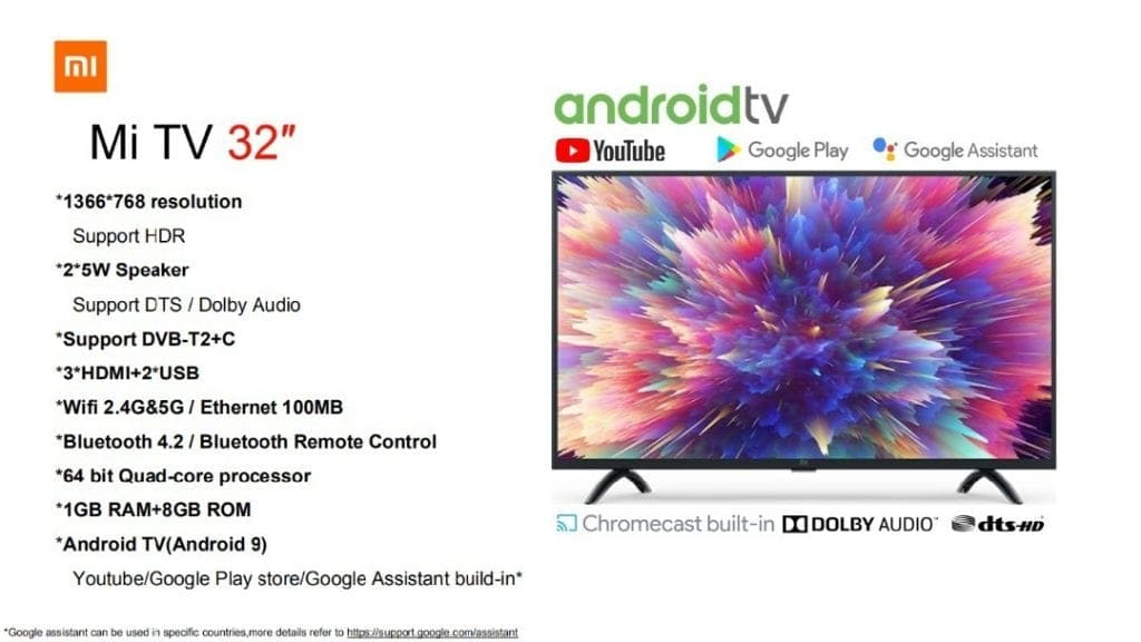 televisiones-Xiaomi-Mi-TV-32-pulgadas