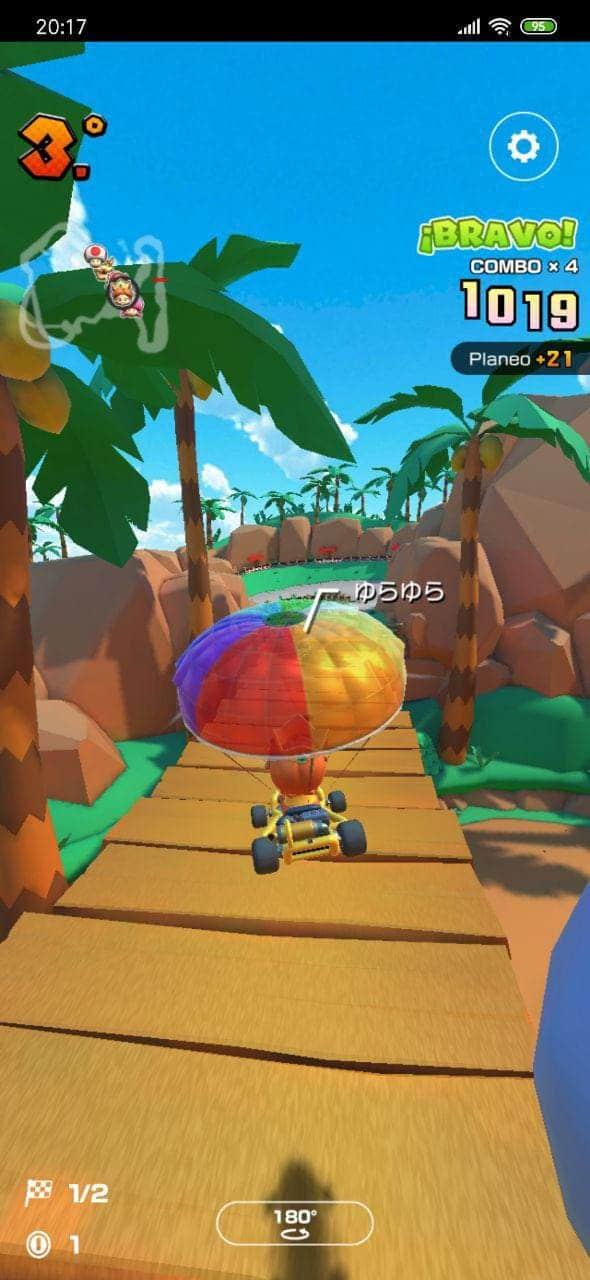 paracaidas-Mario-Kart-Tour