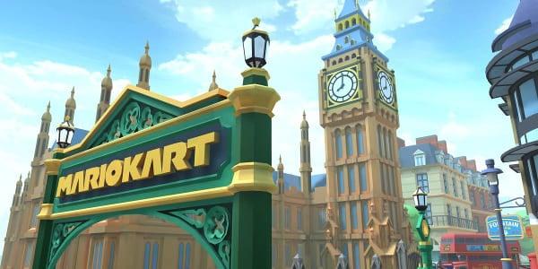 Nos vamos de turismo a Londres en la sexta temporada de Mario Kart Tour